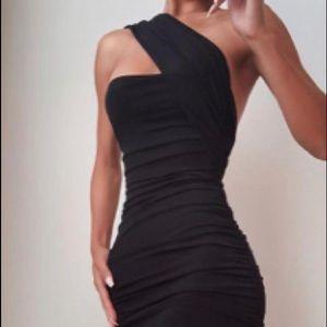 Cut Out Asymmetrical dress